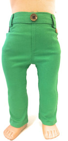 Skinny Jeans-Green