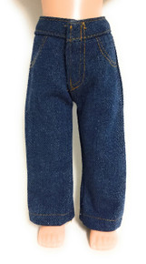 Dark Denim Jeans for Wellie Wishers Dolls