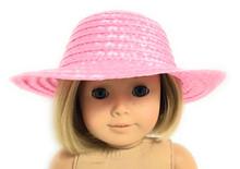 Straw Hat-Pink