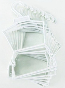 Hanger-10 White Plastic Outfit