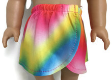 Wrap Around Skirt-Rainbow
