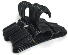 Hangers-Black Plastic 2 Dozen
