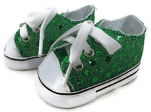 Sequin Sneakers-Green