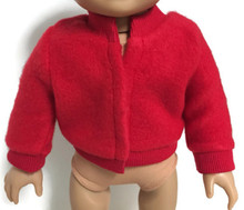 Fleece Jacket-Red