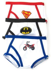 3 pack Boy Underwear-Cartoon