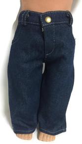 Jeans-Dark Denim with Pockets