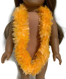 Hawaiian Garland Lei-Orange