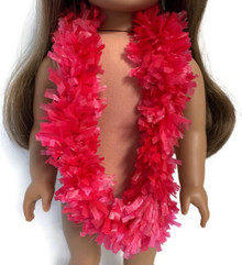 Hawaiian Garland Lei-Red