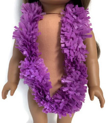 Hawaiian Garland Lei-Purple