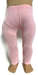 Knit Leggings-Pink