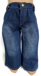 Jeans-Stone Washed Denim