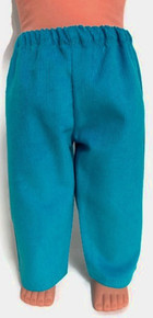 Corduroy Pants-Blue