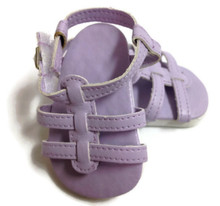 Strappy Sandals-Lavender