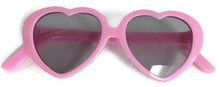 6 Sunglasses-Pink Heart