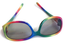 6 Sunglasses-Rainbow Frame