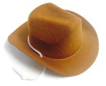 3 Cowboy Hats-Tan