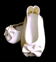 3 Bow Shoes-White