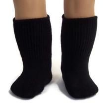 6 pair of Knit Sport Socks-Black