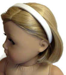 6 Headbands-White