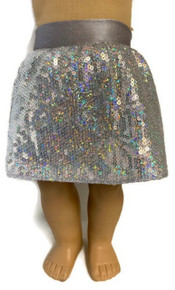 3 of Silver Sequin Skirts