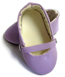 3 pair of Flats-Lavender