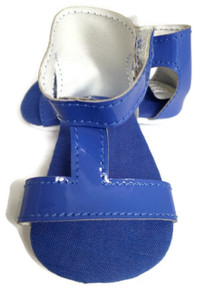 3 of T-Strap Sandals-Royal Blue