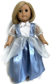 3 of Princess Gown-Blue