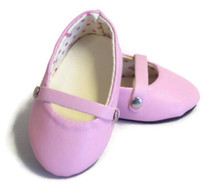 3 pair of Flats-Pink