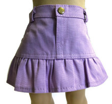 3 of Ruffled Skirt-Lavender