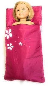3 of Sleeping Bag with Flowers-Dark Pink