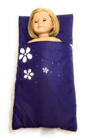 3 of Sleeping Bag with Flowers-Purple
