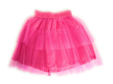 3 of Tutu Skirt-Bright Pink