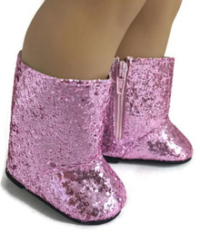 3 pair of Sparkle Boots-Pink