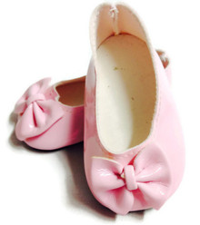 3 pair of Bow Shoes-Pink