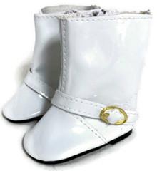 3 pair of Rain Boots-White