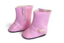 3 pair of Rain Boots-Pink