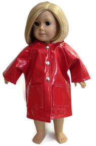 3 of Raincoat-Red