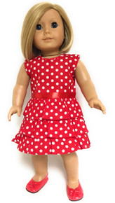 3 of Polka Dot Dress-Red & White