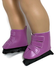 3 pair of Roller Blades-Purple