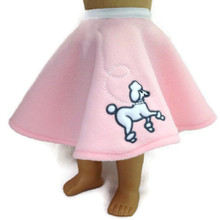 3 of Poodle Skirt-Pink