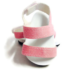 3 of Glitter Sandals-Pink