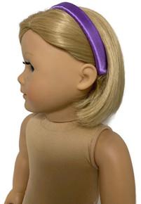 Headband-Lavender Satin