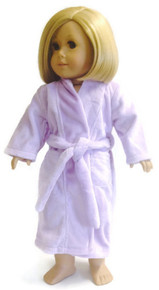 3 Bathrobes-Lavender