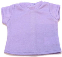 Capped Sleeved Shirt-Lavender