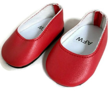 Slip On Dress Shoes-Red