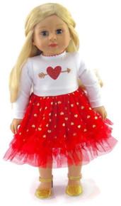 Valentine Cupid Heart Dress