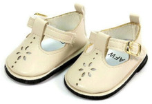 Mary Jane Shoes-Cream