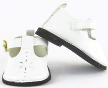 Mary Jane Shoes-White