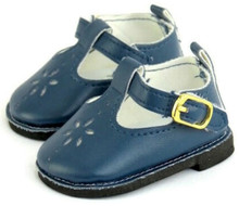 Mary Jane Shoes-Navy