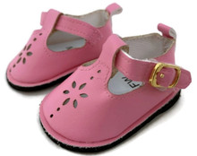 Mary Jane Shoes-Pink